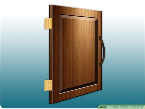 Spaceballs For Cabinet Doors How To Make Cabinet Doors 9 Steps With Pictures Wikihow