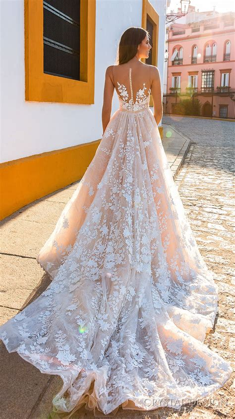 pink designer wedding dresses beautiful wedding dresses from the 2017 design