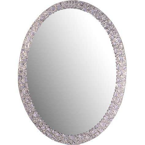crystal bathroom mirror decor wonderland frameless crystal wall mirror reviews