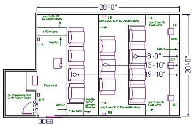 home theater floor plans home theater room design on house plans home plans house