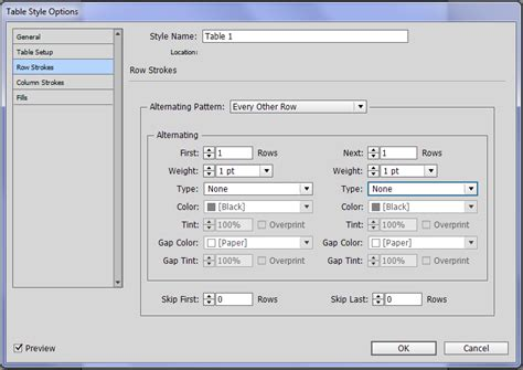 creating indesign tables making tables look good in indesign