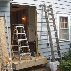 bump out addition the family handyman