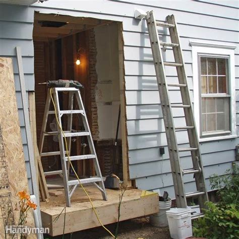 add a bathroom to a house bump out addition the family handyman