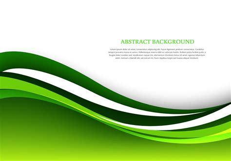 green abstract background free vector 63109 free