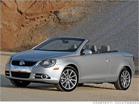 Top Value Cars by Top 10 Best Resale Value Cars Volkswagen Eos 8