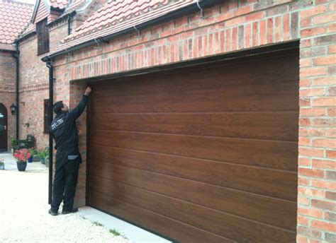A P Garage Doors by Oak Hormann Sectional In Muskham Protec