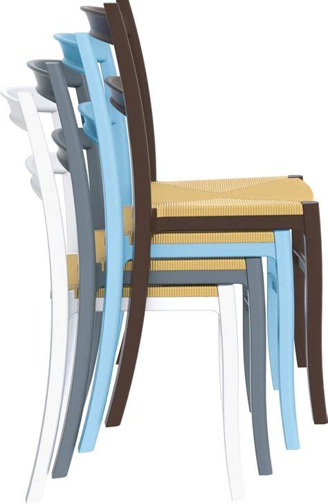 sedie di plastica telma sedie in plastica da esterno per bar e ristoranti