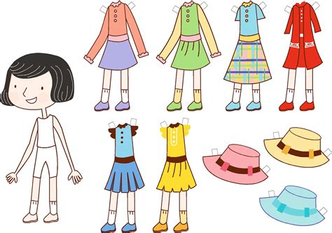 Paper Doll - advanced projects in computers flash paper doll