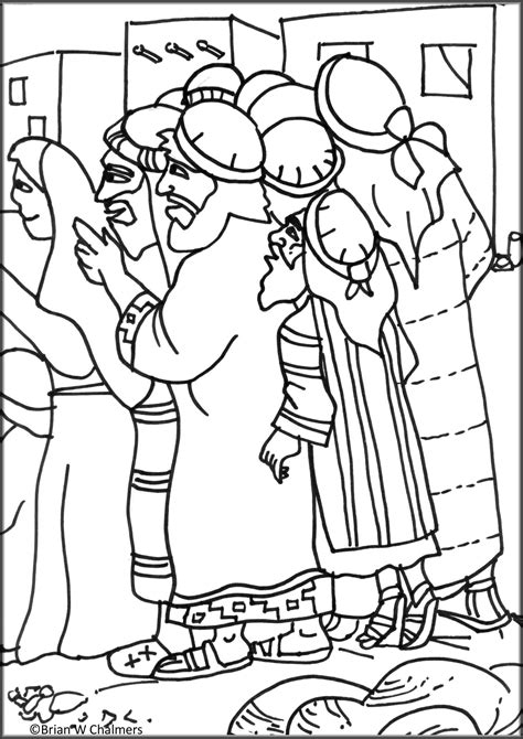printable coloring pages zacchaeus zaccheus coloring page bible jesus zacchaeus