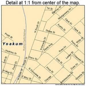 yoakum map 4880560