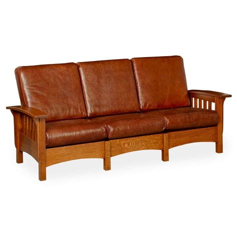 mission sofa classic mission sofa amish classic mission sofa