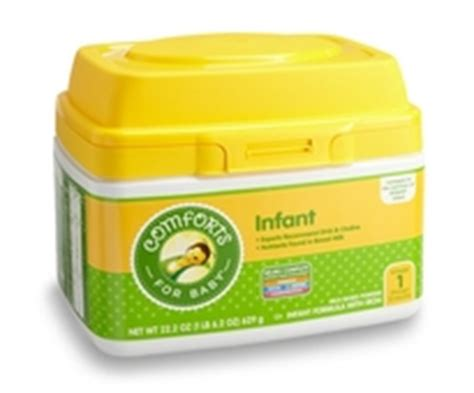 Comforts Baby Formula by Compare Brands Comforts For Baby
