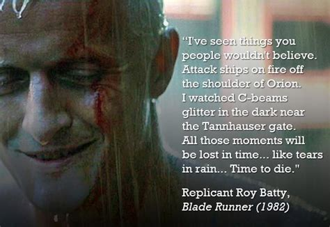 film roy quotes roy batty from blade runner played by rutger hauer