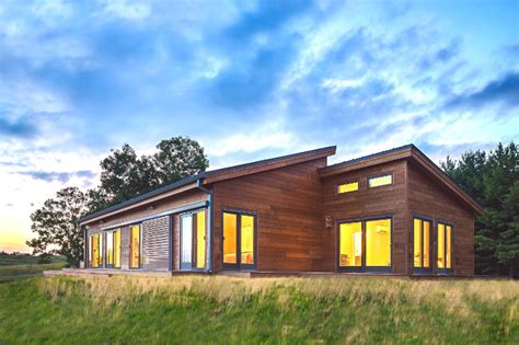 blu house properties blu homes unveils a balance prefab for frank lloyd wright s grandson near taliesin