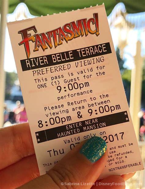 fantasmic seating review fantasmic dining package at river terrace in