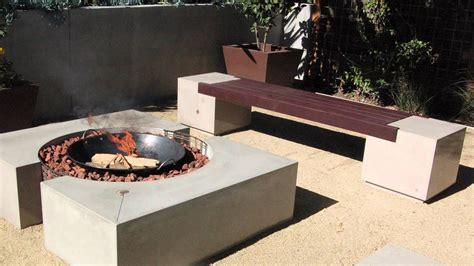 Cinder Block Fire Pit Bench Ideas