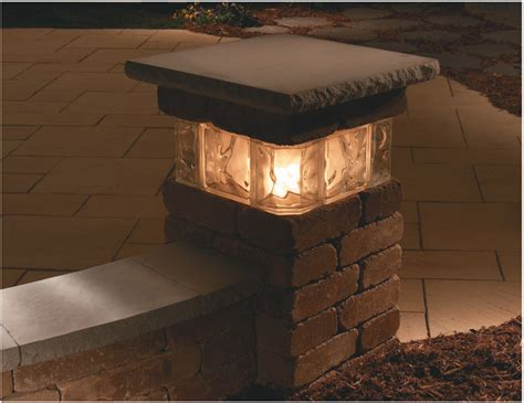 Large Outdoor Lighting Fixtures Solar Column Lights Large Outdoor Solar Lights