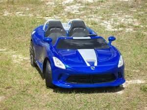 Dodge Viper Power Wheels Modified Power Wheels Custom Built Colbalt Blue