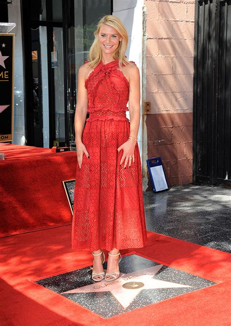 claire danes walk of fame claire danes overwhelmed to receive star on hollywood