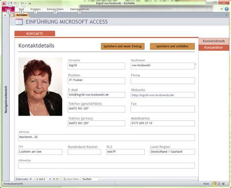 Access Design Vorlagen Office Access Grundlagen Ingrid Koslowski