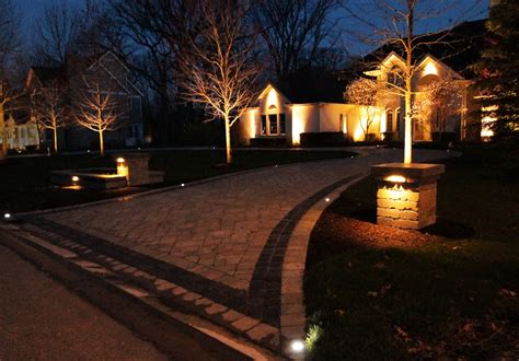 Wired Landscape Lighting Gallery Home And Lighting Design Wired Landscape Lighting