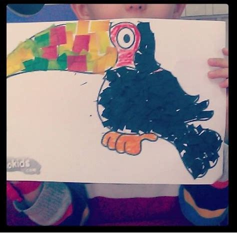 toucan crafts  preschoolers funny crafts