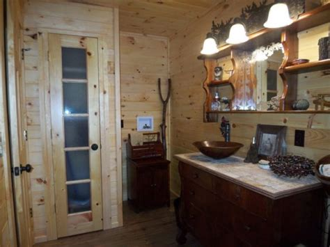 Rustic Cabin Bathrooms by Information About Rate Space Questions For Hgtv