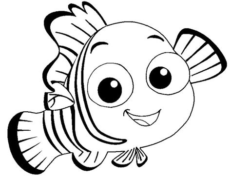 Nemo Coloring Pages To Print | 35 best finding nemo coloring pages images on pinterest