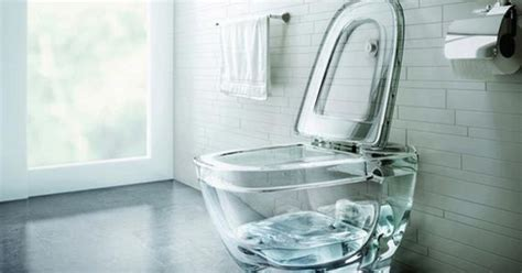 glass toilet    dont