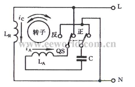 reversing capacitor start motor diagram capacitor start single phase motor basic circuit circuit diagram seekic