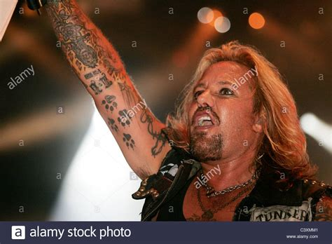 vince neil tattoos vince neil singer from motley crue performs at