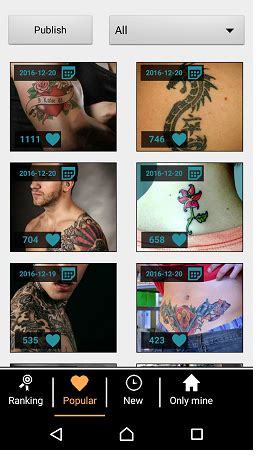 best tattoo app android best free paid test out tattoo design apps for android