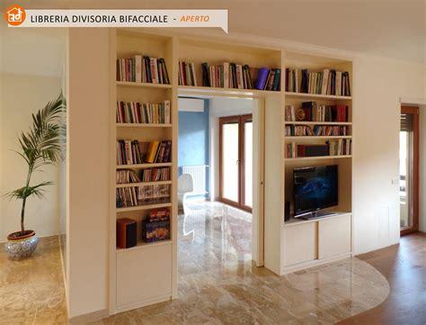 librerie divisorie bifacciali librerie bifacciali su misura costruite in vero legno