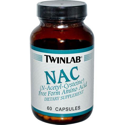 n supplements twinlab nac n acetyl cysteine 60 capsules iherb