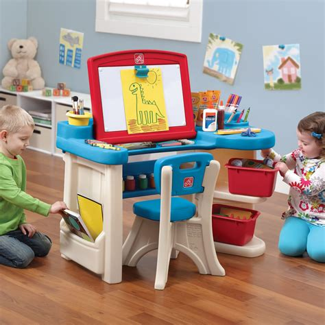 step 2 art table studio art desk kids art desk step2