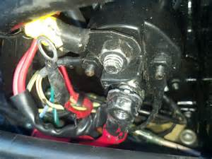 i a 1996 mercury 75hp and it is blowing fuses