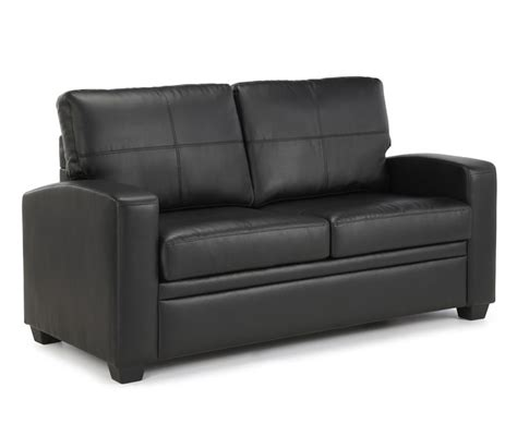 4ft Sofa Beds Turin Black Faux Leather 112cm Sofa Bed Just 4ft Beds