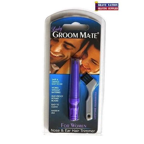 groom mate nose ear hair trimmer groom mate nose and ear hair trimmer shave nation