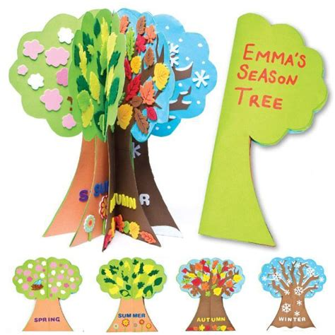 libro tree seasons come seasons season tree project activities group and