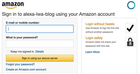 amazon login alexa account linking 5 steps to seamlessly link your