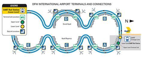 dfw airport map dart org dfw international airport information