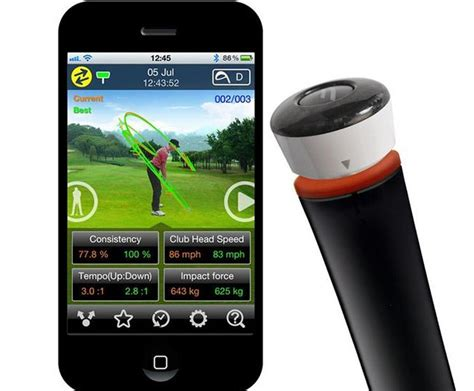 golf swing speed analyzer gsa pro golf swing analyzer 187 petagadget