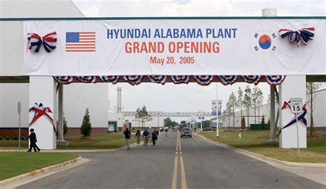 hyundai plant alabama the second industrialization of the american south will