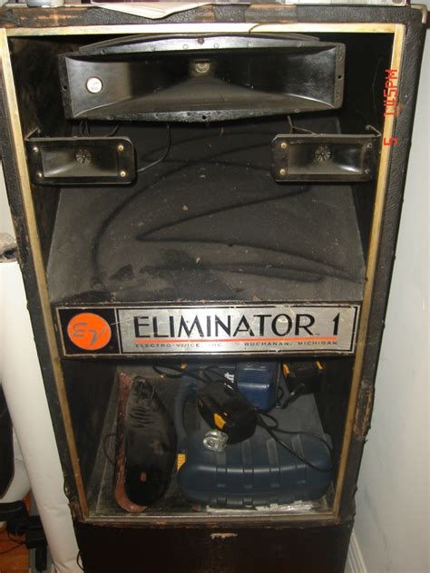 ev electrovoice eliminator speakers vintage  sale