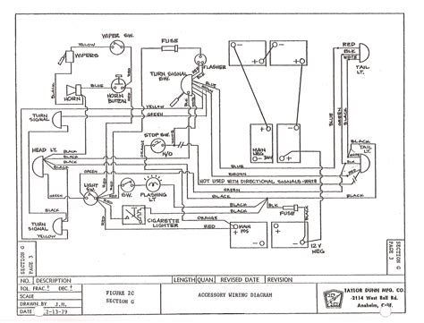 flat bed cart ez go wiring diagram wiring diagram with
