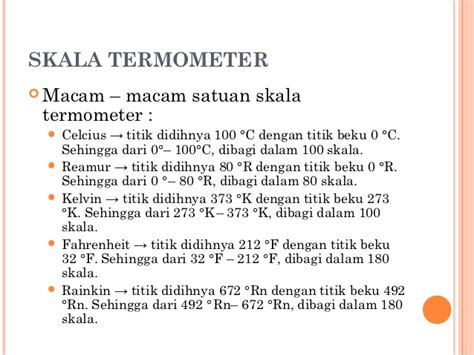 Termometer Skala 100 suhu dan kalor