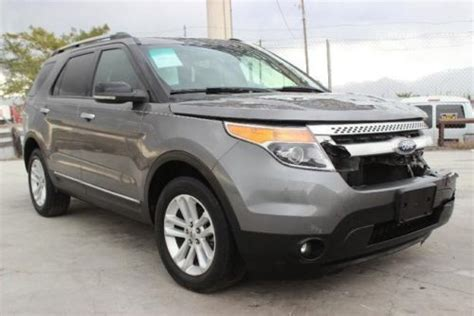 sell used 2011 ford explorer xlt 4wd damaged salvage loaded nice unit priced to sell l k in
