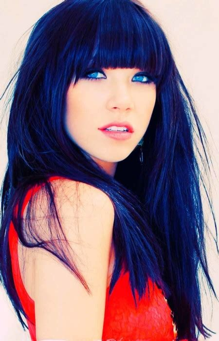 hairstyles for dyed black hair blue black hair tips and styles dark blue hair dye styles