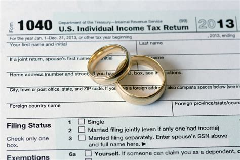 Past Property Tax Records How Getting Married Affects Your Taxes Us Tax Center