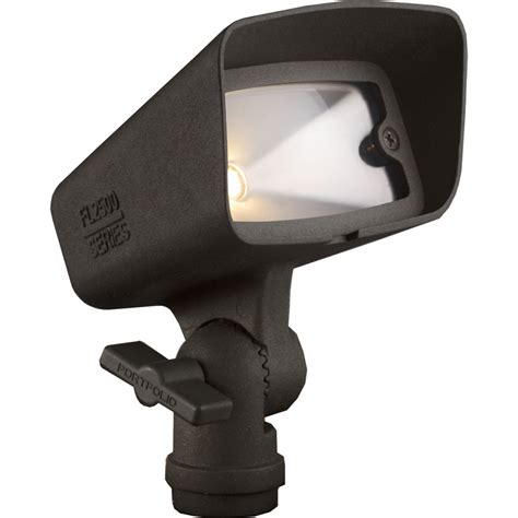 Low Voltage Flood Lights Outdoor Shop Portfolio Landscape Bronze Low Voltage Led Flood Light At Lowes